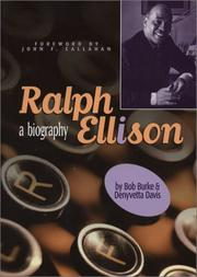 Cover of: Ralph Ellison