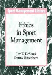Cover of: Ethics in sport management