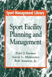 Cover of: Sport facility planning and management