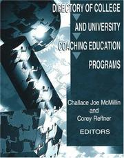 Cover of: Directory of College and University Coaching Education Programs |