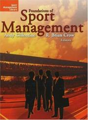 Cover of: Foundations of Sport Management (Sport Management Library) |