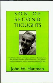 Cover of: Son of second thoughts