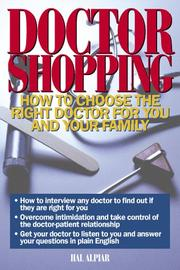 Cover of: Doctor shopping