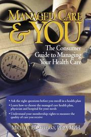 Cover of: Managed care & you