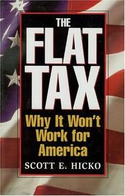Cover of: The Flat Tax