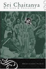 Cover of: Sri Chaitanya | Bhaktivinode Thakur