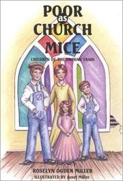 Cover of: Poor as church mice | Roselyn Ogden Miller