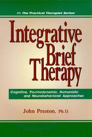 Cover of: Integrative brief therapy