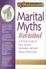 Cover of: Marital Myths Revisited