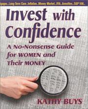 Cover of: Invest With Confidence