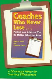 Cover of: Coaches Who Never Lose |