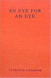 Cover of: An eye for an eye