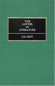 Cover of: The lawyer in literature