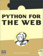 Cover of: Python for the Web | Dustin Mitchell