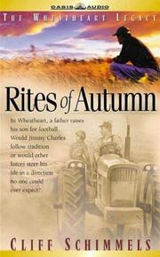 Cover of: Rites of Autumn (Wheatheart Legacy, 1)