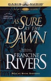 Cover of: As Sure As the Dawn (Mark of the Lion, 3) |