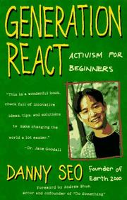 Cover of: Generation react | Danny Seo