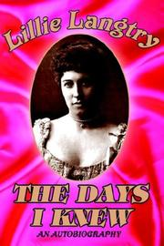 Cover of: The days I knew
