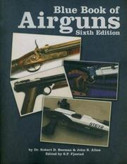 Cover of: The Blue Book of Airguns | Robert D., Dr. Beeman