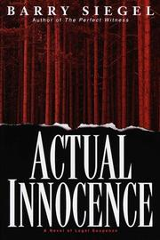 Cover of: Actual innocence