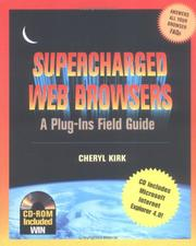 Cover of: Supercharged web browsers