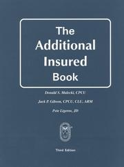 Cover of: The additional insured book