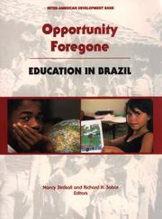 Cover of: Opportunity Foregone |