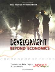 Economic and Social Progress in Latin America by Inter-American Development Bank.