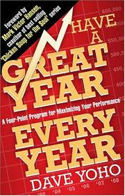 Cover of: Have a Great Year Every Year