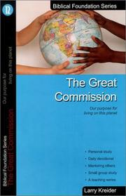 Cover of: The Great Commission | Larry Kreider