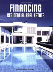 Cover of: Financing Residential Real Estate