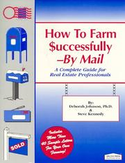 How to farm successfully--by mail by Johnson, Deborah