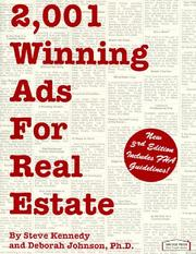 2,001 winning ads for real estate by Steve Kennedy