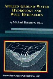 Publisher water resources publications open library applied ground water hydrology and well hydraulics by michael kasenow fandeluxe Image collections