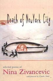 Cover of: Death of New York City | Nina Zivancevic