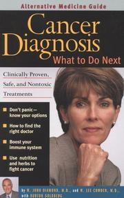 Cover of: Cancer Diagnosis | W. John Diamond, W. Lee Cowden, Burton Goldberg