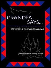 Cover of: Grandpa says--