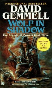 Cover of: Wolf in Shadow (Stones of Power) | David A. Gemmell