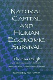 Cover of: Natural capital and human economic survival