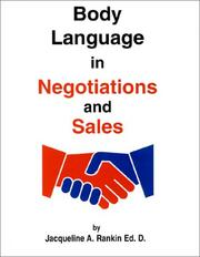 Cover of: Body Language in Negotiations and Sales