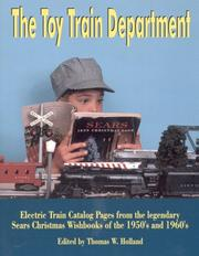 Cover of: The Toy Train Department