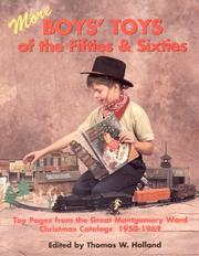 Cover of: More Boys' Toys of the Fifties and Sixties