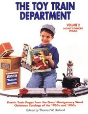 Cover of: The Toy Train Department - Volume 2