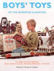 Cover of: Boys' Toys of the 70's & 80's