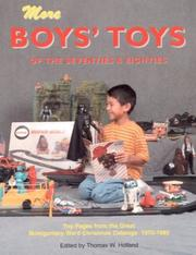 Cover of: More Boys' Toys of the 70's & 80's