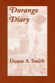 Cover of: Durango Diary
