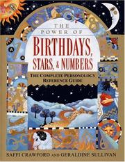 Cover of: The power of birthdays, stars & numbers by Saffi Crawford