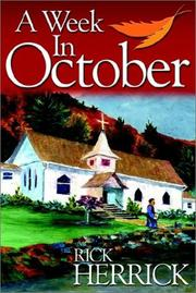 Cover of: A week in October | Rick Herrick