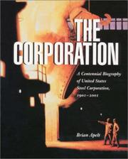 Cover of: Corporation | Brian Apelt