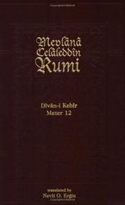 Cover of: Divan-I Kebir Meter 12